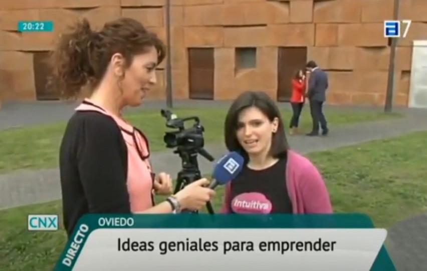 Entrevista Conexión Asturias. TPA. Emprendedores Oviedo. Laura de la Rica