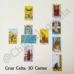 Lectura Cruz celta 10 Cartas. 15€