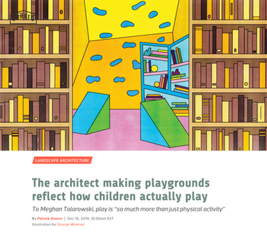 'The architect making playgrounds reflect how children actually play'