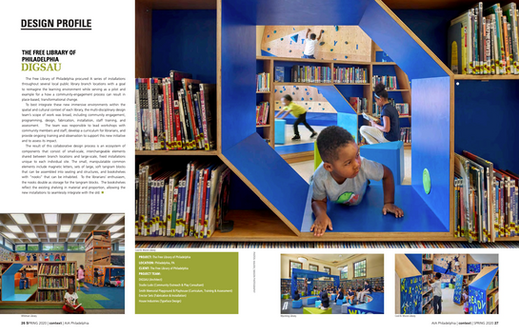 'Design Profile, Free Library of Philadelphia, Play Spaces'