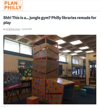 'Shh! This is a...jungle gym? Philly libraries remade for play'