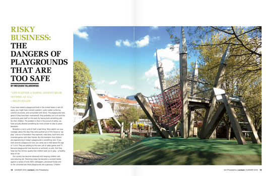 'Risky Business: The Dangers of Playgrounds That Are Too Safe'