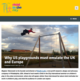 'Why US Playgrounds Must Emulate the UK and Europe'