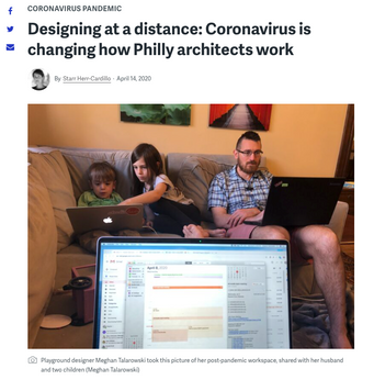 'Designing at a distance: Coronavirus is changing how Philly architects work'
