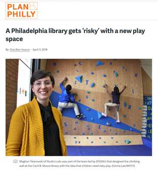 'A Philadelphia Library Gets 'Risky' with a New Play Space'