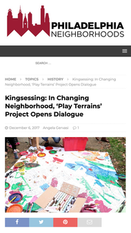 'Kingsessing: In Changing Neighborhood, 'Play Terrains' Project Opens Dialogue'
