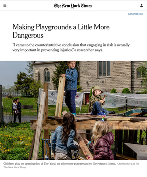 'Making Playgrounds A Little More Dangerous'