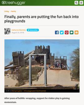 'Finally, Parents Are Putting The Fun Back Into Playgrounds'