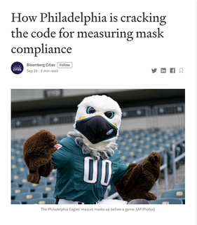 'How Philadelphia is cracking the code for measuring mask compliance'