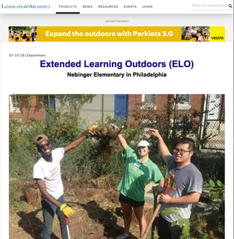 'Extended Learning Outdoors'