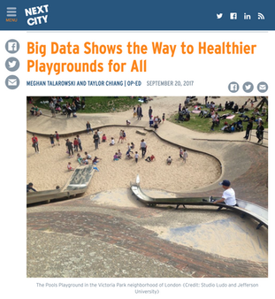 'Big Data Shows The Way To Healthier Playgrounds For All'