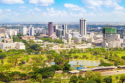 Nairobi cityscape - capital city of Keny