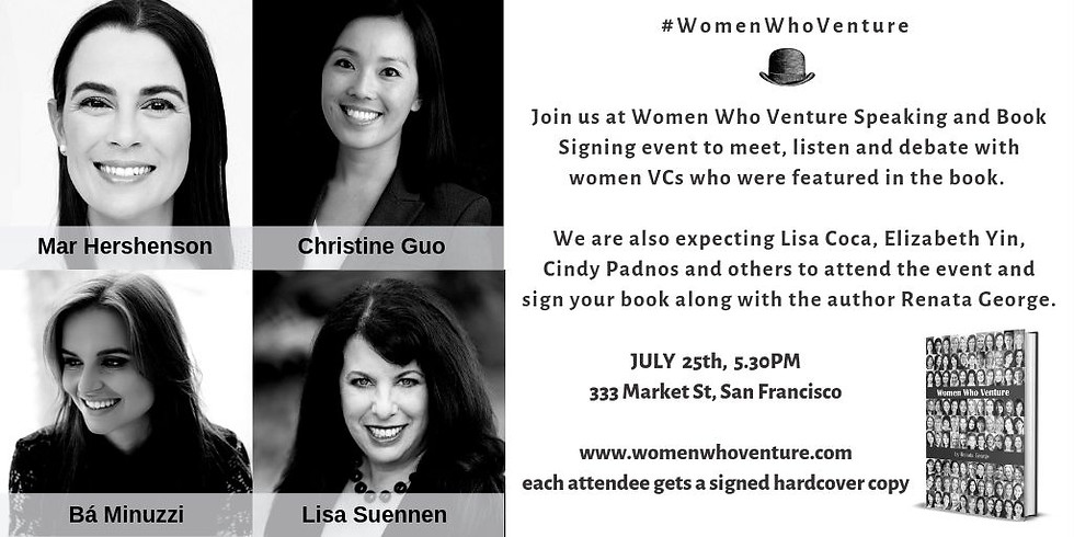 SF | Women Who Venture Speaking