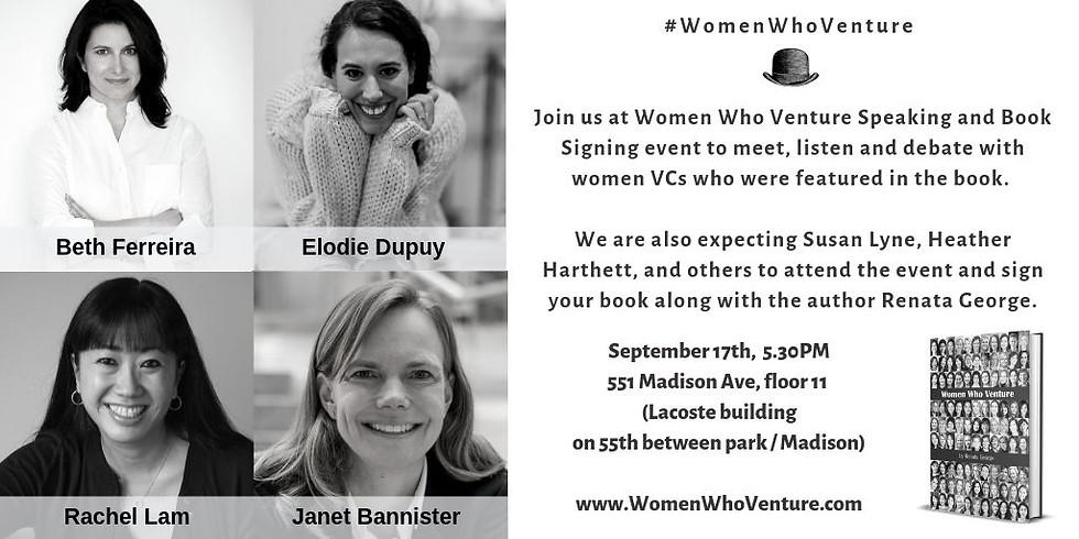 NYC   Women Who Venture Speaking