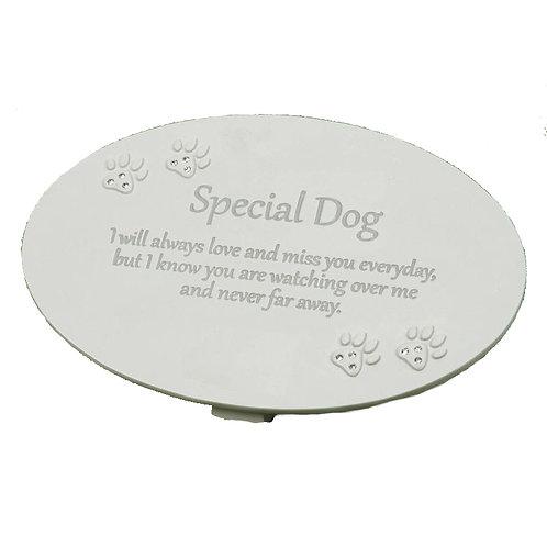 Special Dog Memorial Plaque