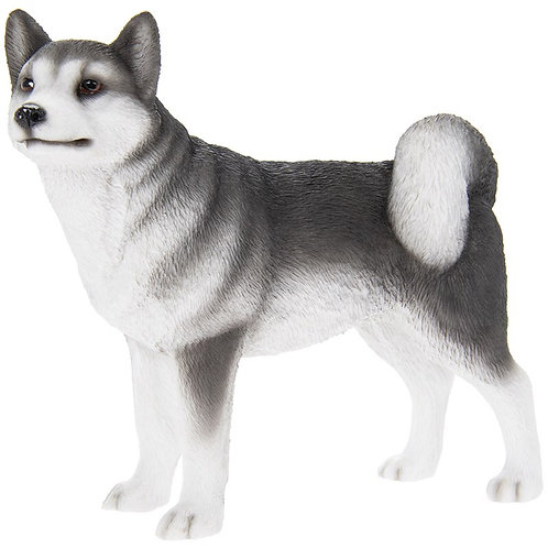 Husky Dog Figurine