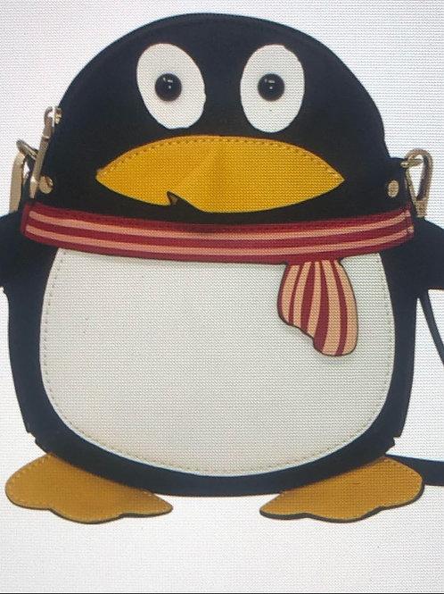 Penguin Shaped Vintage Bag