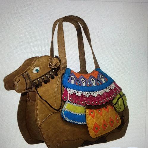 Camel Shaped Vintage Bag