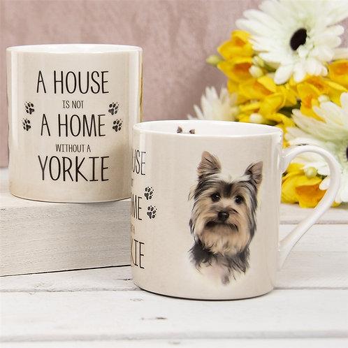 Yorkie Drinking Mug
