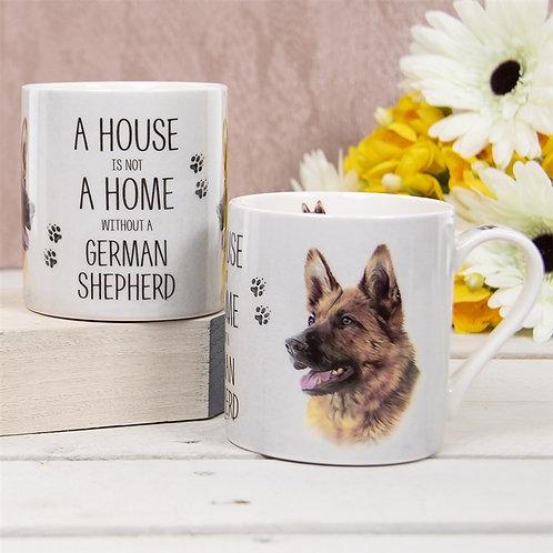 German Shepherd Drinking Mug
