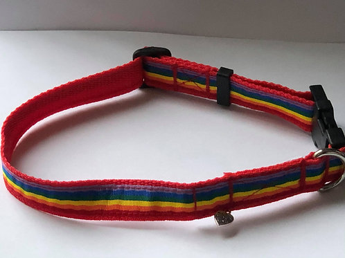 Rainbow Dog Rescue Collars (from £7.99)