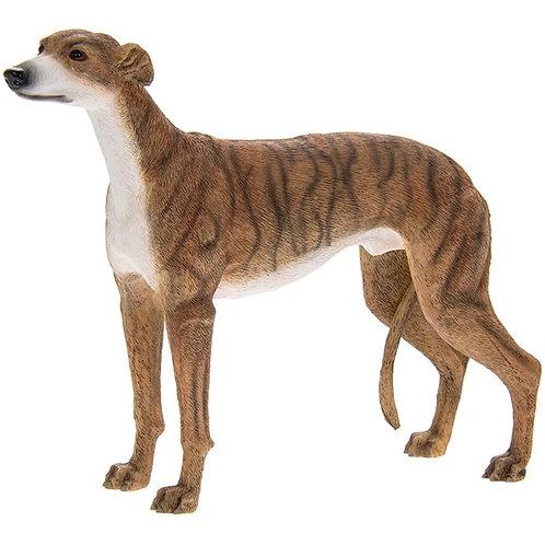 Greyhound Figurine (Dark)