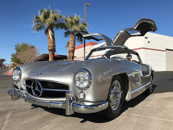 #mercedes #300slgullwing completed and r