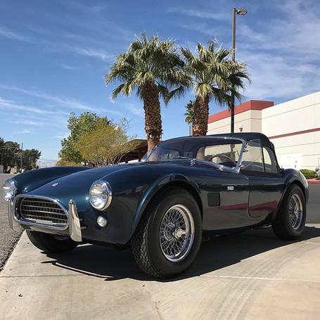 A rare shot of this 1964 AC Shelby Cobra