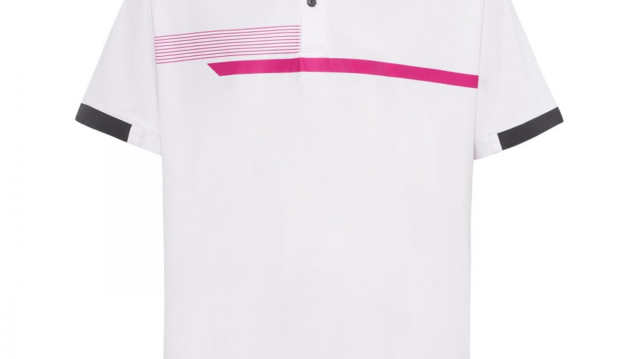 Sporte Leisure - Noir Men's White Polo