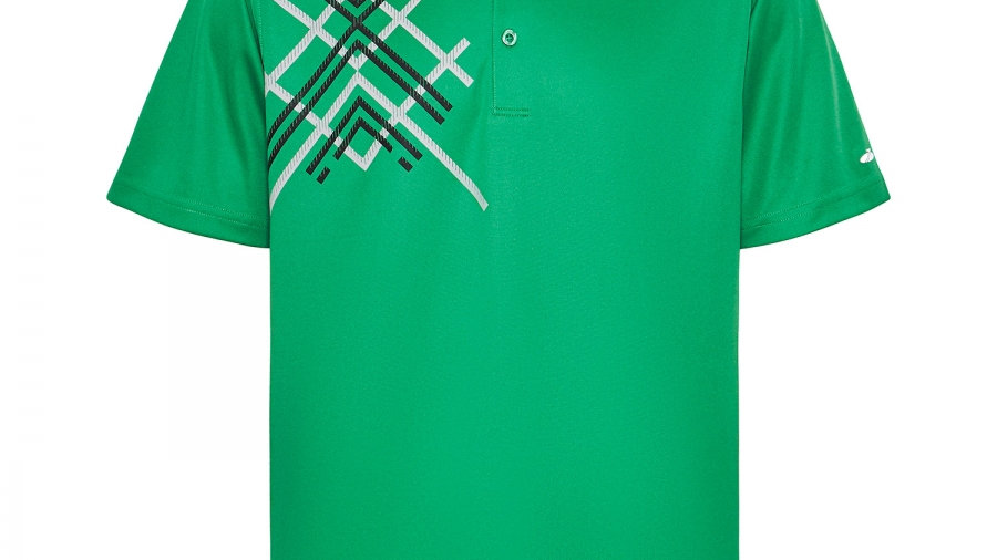Sporte Leisure - Deck Men's Polo Jelly Bean Green - LOGOED