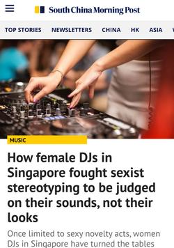 Female DJs story for SCMP