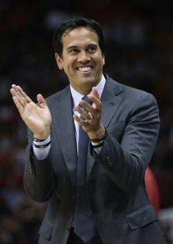 Erik Spoelstra, head coach of the NBA Miami Heat