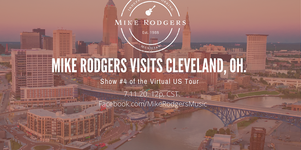 Mike Rodgers visits Cleveland, OH
