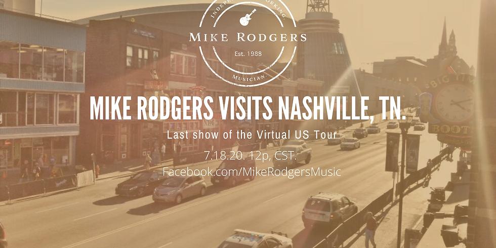 Mike Rodgers Visits Nashville, TN