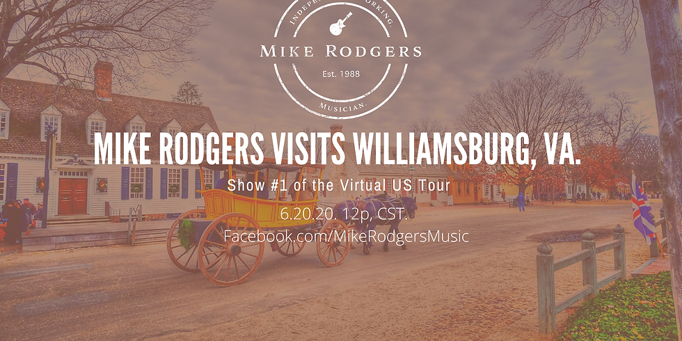 Mike Rodgers Visits Williamsburg, VA