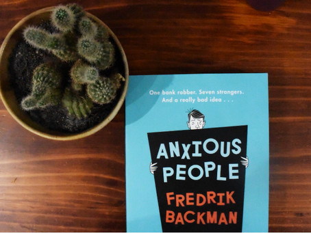 Let's Discuss: 'Anxious People' by Fredrik Backman