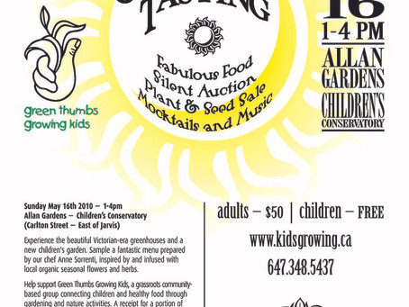 Green Thumbs Garden Party Fundraiser May 16th