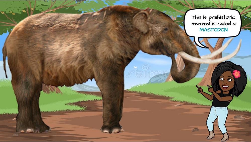 Ohemaa's avatar appears with the Mastodon.