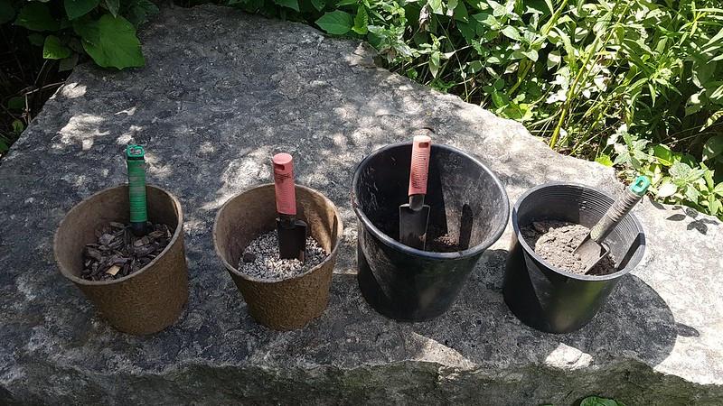 pails and shovels