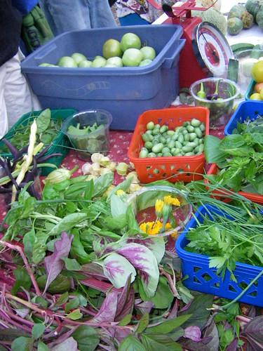 veggies, greens