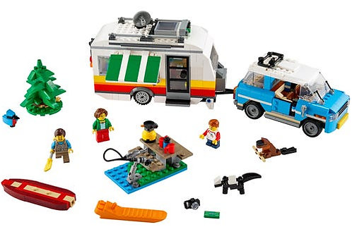 31108 Caravan Family Holiday