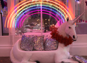 Chaika Events create the ultimate unicorn utopia at The Orangery