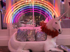 Chaika Events create the ultimate unicorn utopia at The Orangery