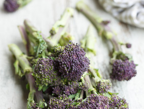 Ingredient of the month: Purple Sprouting Broccoli