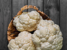 Our cafes' ingredient of the month: Cauliflower