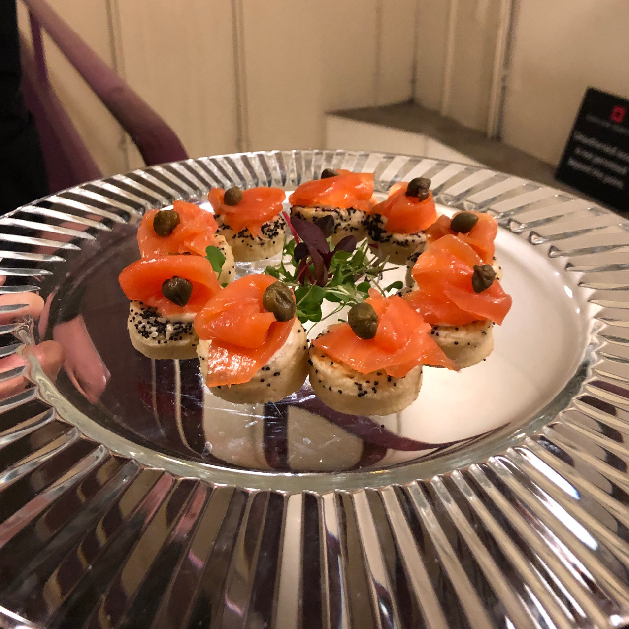 Cooks and Partners canape catering