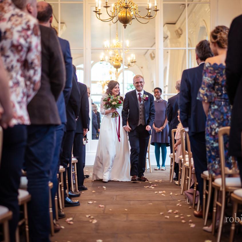 Yasmin & James Wedding The Orangery
