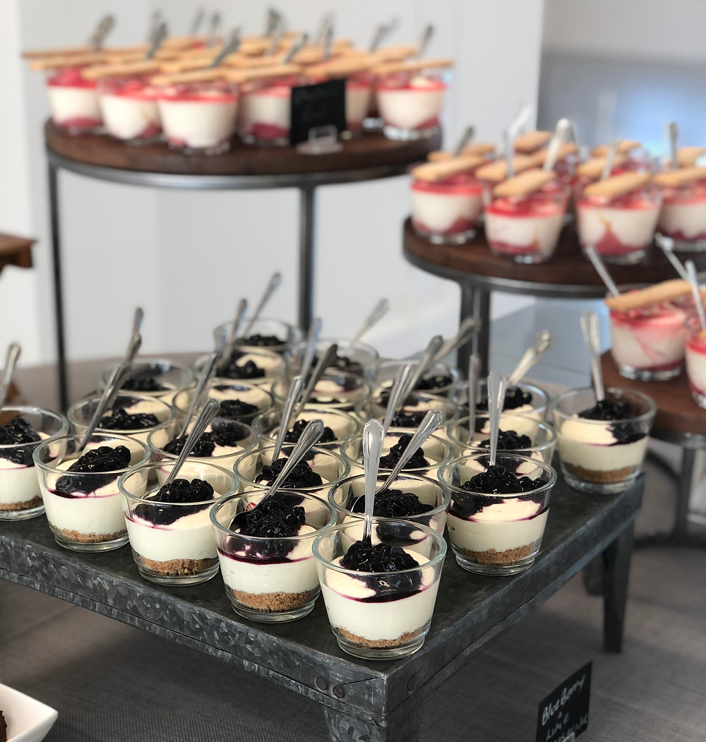 Dessert station by Cooks & Partners