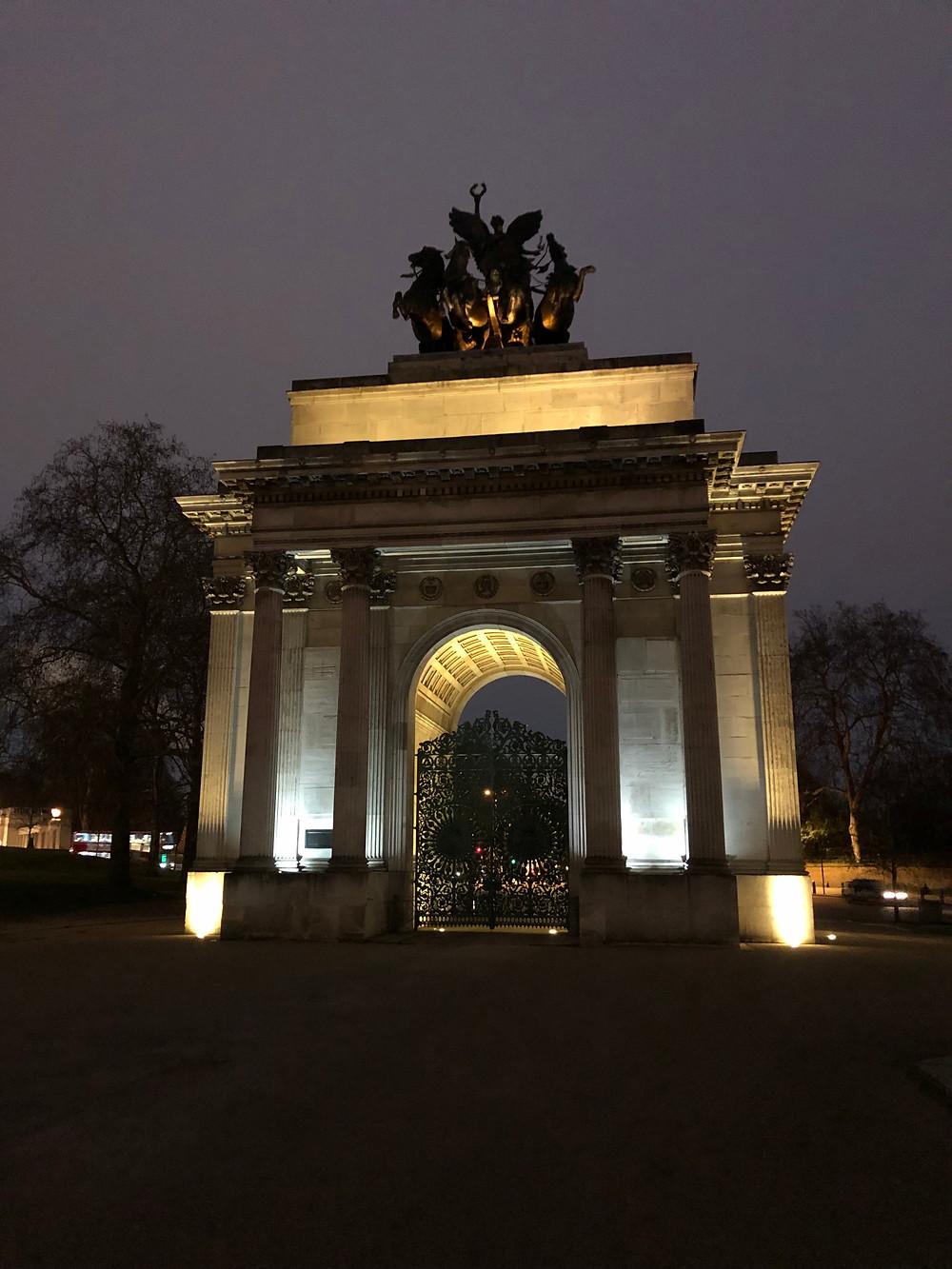 19th –century memorial arch, Wellington Arch