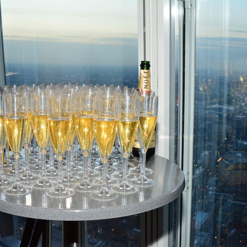 Moet at The View From The Shard